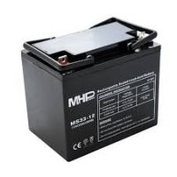 Pb akumulátor MHPower VRLA AGM 12V/33Ah (MS33-12), Terminál L2 - 6,4