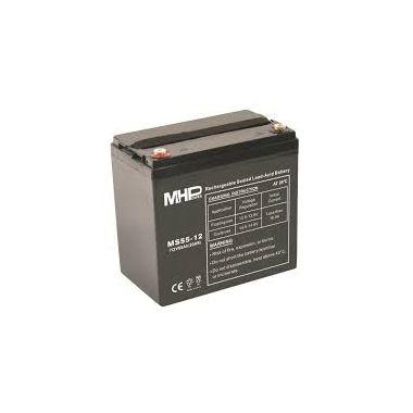Pb akumulátor MHPower VRLA AGM 12V/55Ah (MS55-12), Terminál T1 - M6