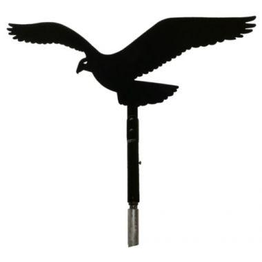 Plašič ptáků - otočný sokol (kotvení na sloupek)