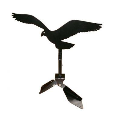 Plašič ptáků - otočný sokol (kotvení na hřeben střechy)
