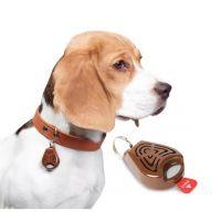 Repelent proti klíšťatům TICKLESS PET ultrazvukový pro zvířata BROWN
