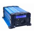 Sinusový měnič napětí 35psw612DD, 12/230V, 600W, displej