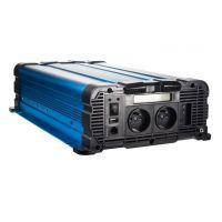 Sinusový měnič napětí 35psw2512DD, 12/230V, 2500W, displej