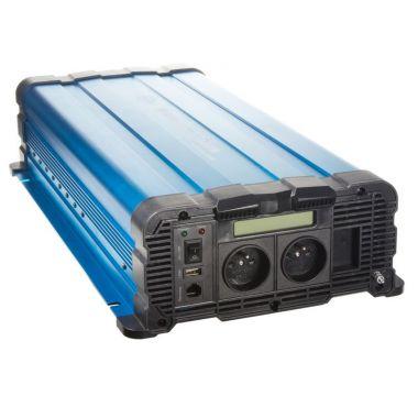 Sinusový měnič napětí 35psw4012DD, 12/230V, 4000W, displej