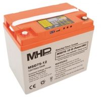 SMART akumulátor 12V/75Ah MHPower MSD75-12