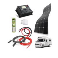Solar kit 100Wp - bydlík I flexi