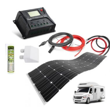 Solar kit 290Wp - bydlík I flexi, PWM