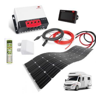 Solar kit 300Wp - bydlík I flexi adhesive, PWM