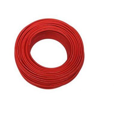 Solární kabel měděný 1x4mm2 - červený