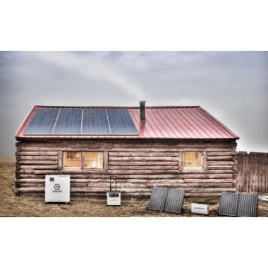 Solární sestava - Mušov II, 2kWh