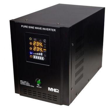 Záložní zdroj MHPower MPU-1200-12, UPS, 1200W, čistý sinus, 12V