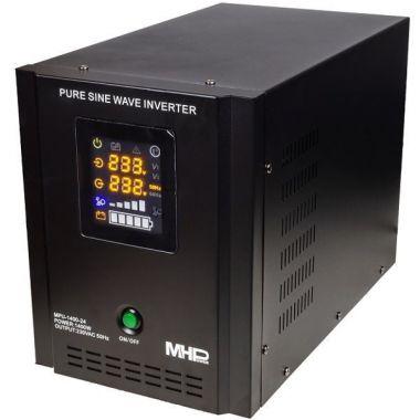 Záložní zdroj MHPower MPU-1400-24, UPS, 1400W, čistý sinus, 24V