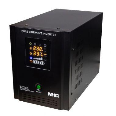 Záložní zdroj MHPower MPU-1600-12, UPS, 1600W, čistý sinus, 12V